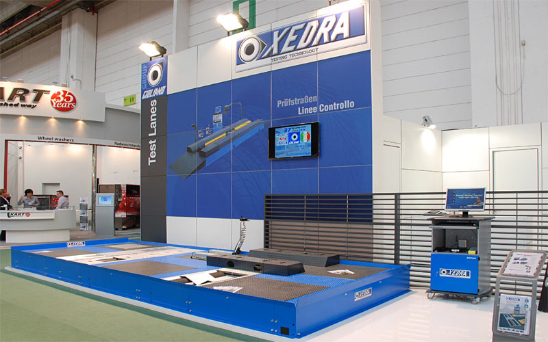 Stand Dedra at Automechanika 2012