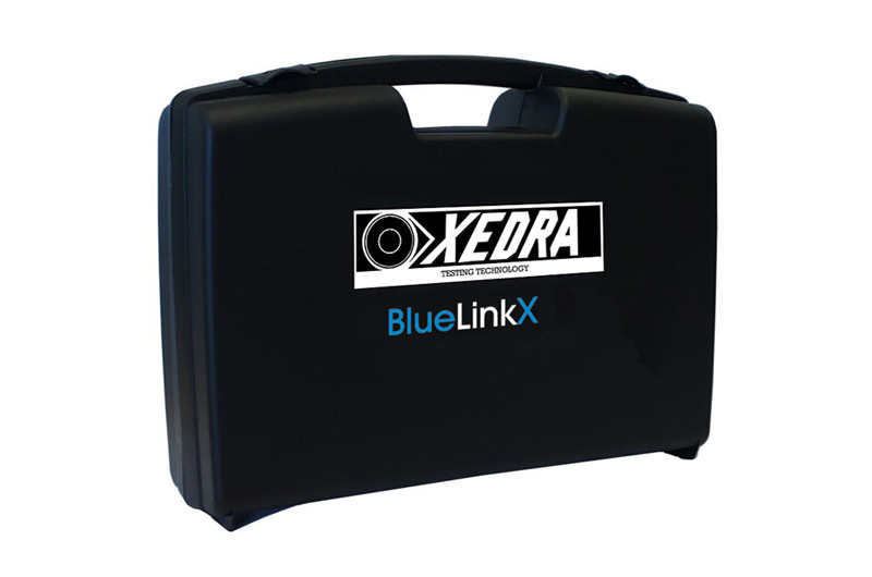 BlueLinkX data transmission device for replacement of RS232 cable in the connection between the sound meter and PC.